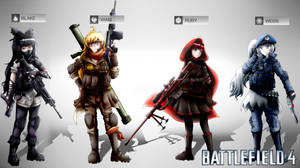 Battlefield 4: RWBY Squad by SSgt-LuLZ