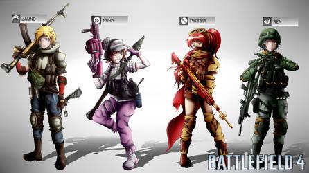 Battlefield 4: Fireteam JNPR by SSgt-LuLZ