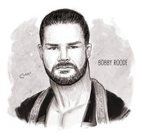 WWE Bobby Roode by baguettepang