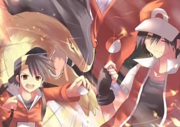 Pokemon by cloverworkshop