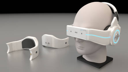 Headset Render by PerpetualStudios