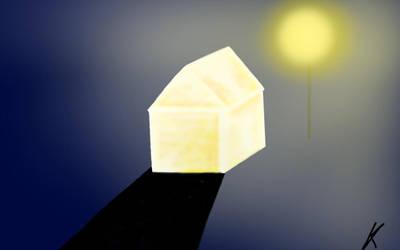 shiny house by lafonki