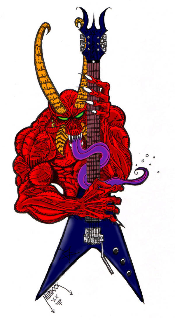 Demon Axe by Demongrinder