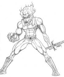 Lion-O Pencils by Demongrinder