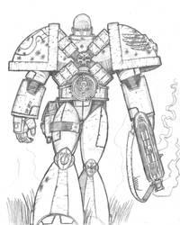 The Space Marine by Demongrinder