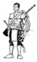 Warrior Piece by Demongrinder