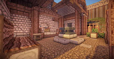 Minecraft Blacksmith II by aquaarmor
