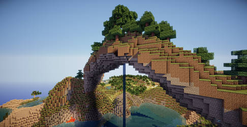 Minecraft Arch by aquaarmor