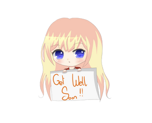 Get Well gift for my friend from school by heartzrainbow412