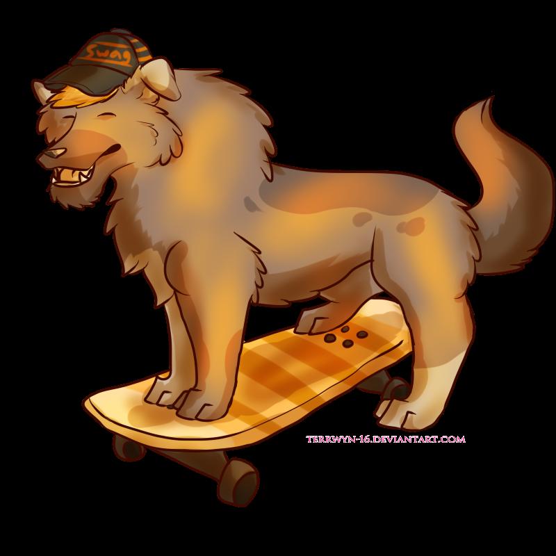 Skateboard Bruh! [Commission] by Terrwyn-16