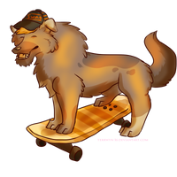 Skateboard Bruh! [Commission] by Terrwyn-16