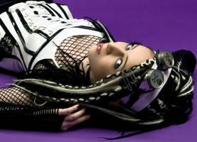 Miss Cyber Doll II by SaphirNoir