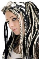 Miss Colourless Sparkle II by SaphirNoir