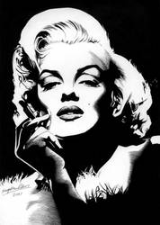 Marilyn Monroe by Viktalon