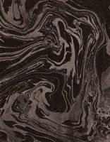 Black Silver Handmade Paper XL by Enchantedgal-Stock