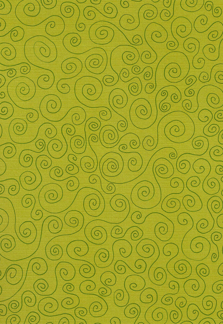 Texture - Green Swirls Paper by Enchantedgal-Stock