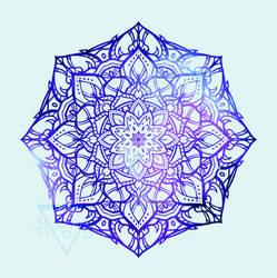 Mandala VIII by GeistVIRUS
