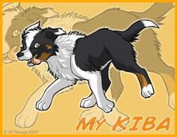 My Dog_KIBA by Tenaga