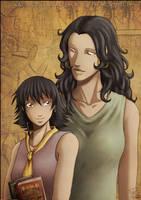 Chloe and Nadira by Tenaga