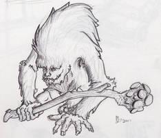 Clubbin' Creature by Vorgus