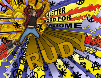 4 Letter Word for Awesome by Vorgus