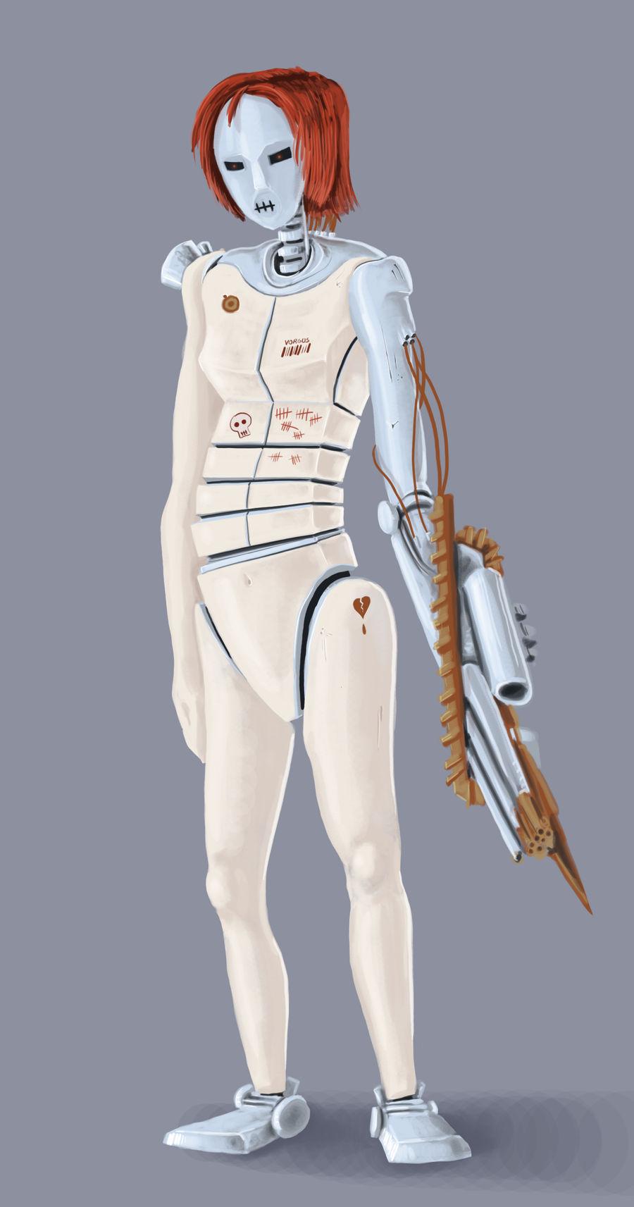 Robot Vorgus by Vorgus