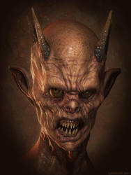 Demon Concept 3 by mrthirdeyeching