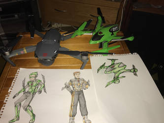 Humanised Drones  by Prowlus