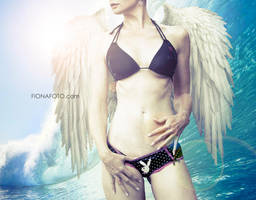 WAVE angel by fionafoto