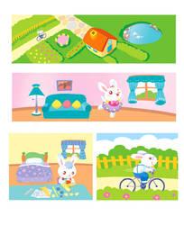Bunny story by jess-yan