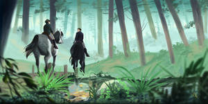 Morning Ride by Lilybyte