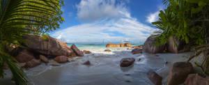Seychelles, Prale secret beach by fly10