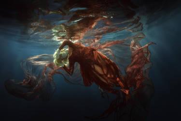 Underwater flower by fly10