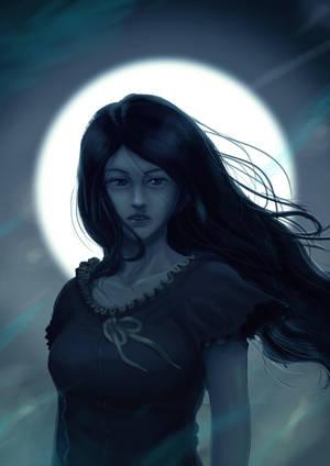Bella Luna by hafzicalart