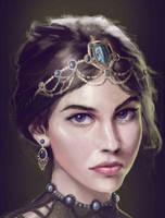 My Lady by hafzicalart