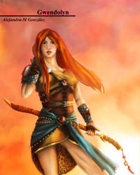 The daughter of fire by Alejandra-M