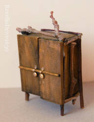 Fairy closet 1:12 scale by RevelloDrive1630