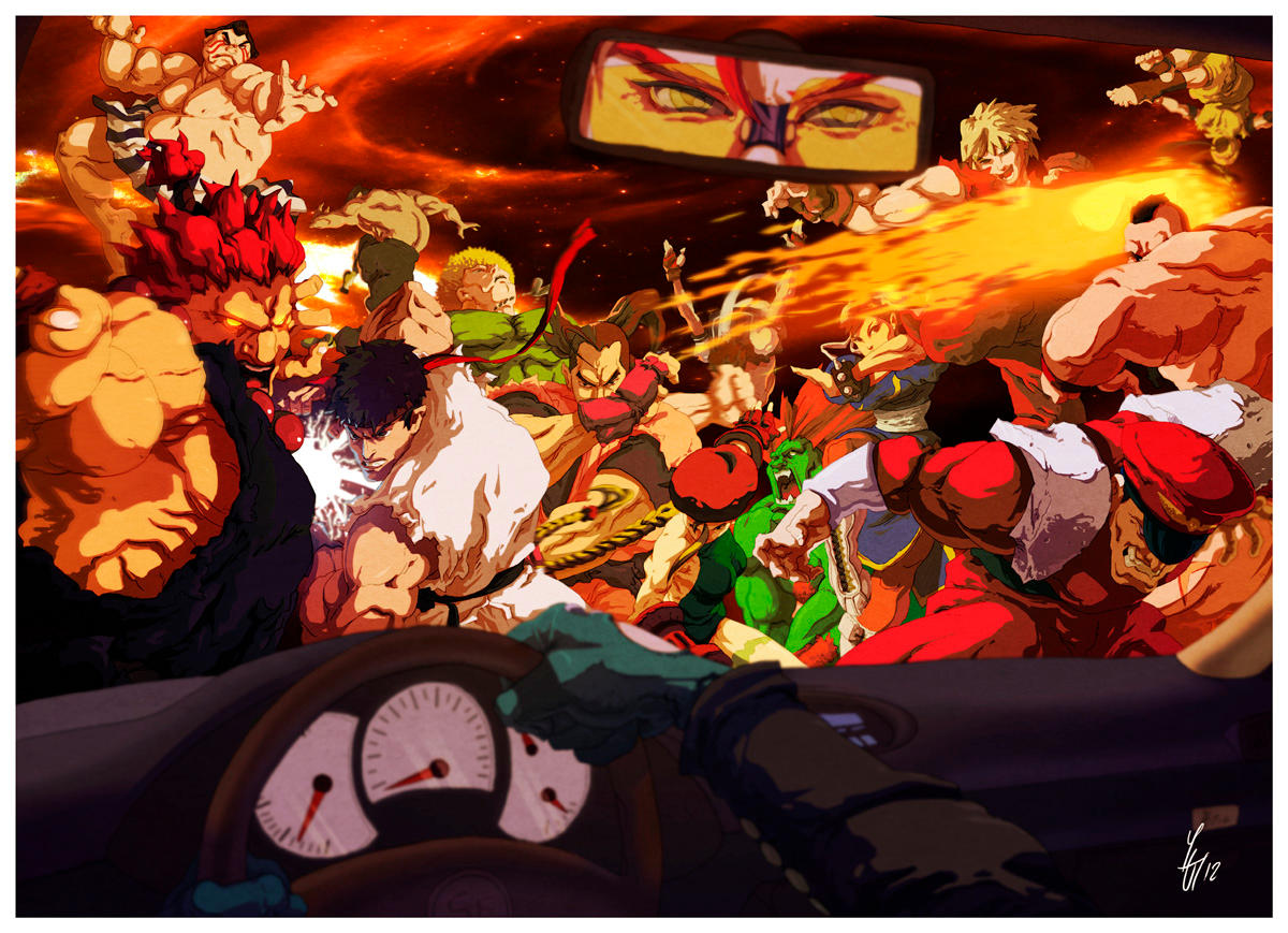 Street Fighter Tribute by Yaguete