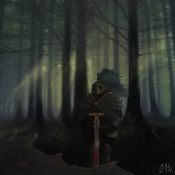 Dragon Slayer by juicyindaskull