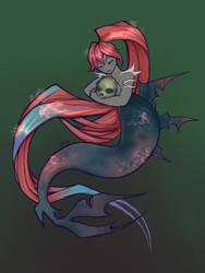 Mermaid by juicyindaskull