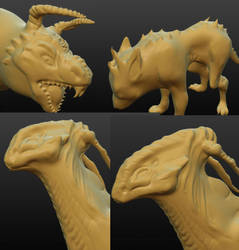 3D from 2015 by juicyindaskull
