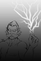Zeus by juicyindaskull