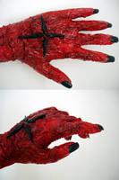 D.Gray - mutated hand progress by kitsunesqueak