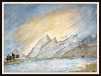 Mooselake by HisWhisper