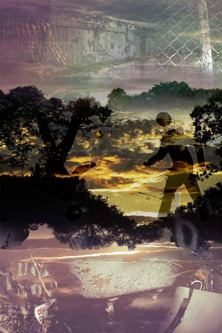 Sunset Stroll by alektraunic