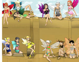 12 Fairies by Phi-sen-tea