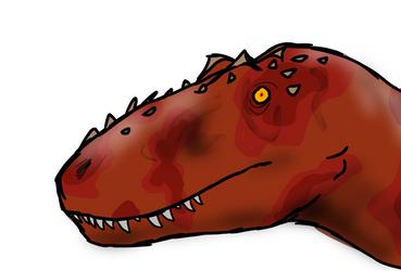 Devil dinosaur  by Covelloraptor