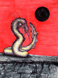 DragonBlacksun by SiteLine6