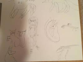 Sketch Dump 1 by Chosen-for-Destiny
