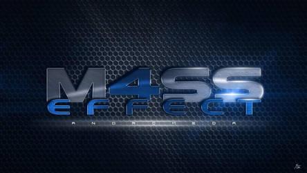 Mass Effect 4 Logo (Blue) by ryansd